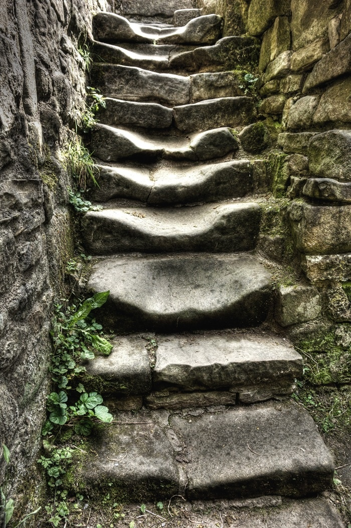 Best Stone For Steps: Best 25+ Stone Steps Ideas On Pinterest