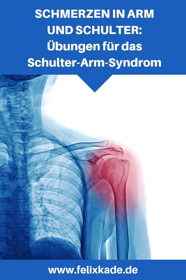 Schmerzen in Schulter und Arm: Übungen für das Schulter