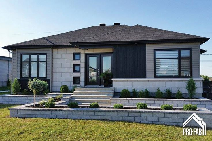 Pro-Fab | Constructeur de maisons modulaires, usinées, préfabriquées | Modèle Mocaccino