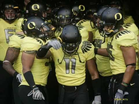 Oregon Ducks (Never Scared)