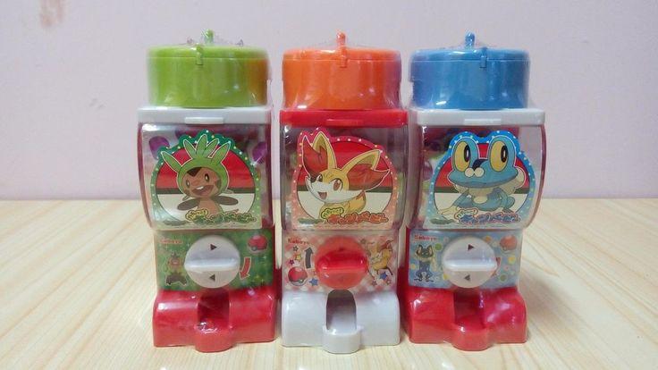 KABAYA Pokemon XY Candy Mini Vending Machine Chespin Fennekin Froakie  #KABAYA