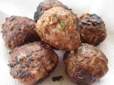 Bolinha de carne moída no dia 31/12/2012