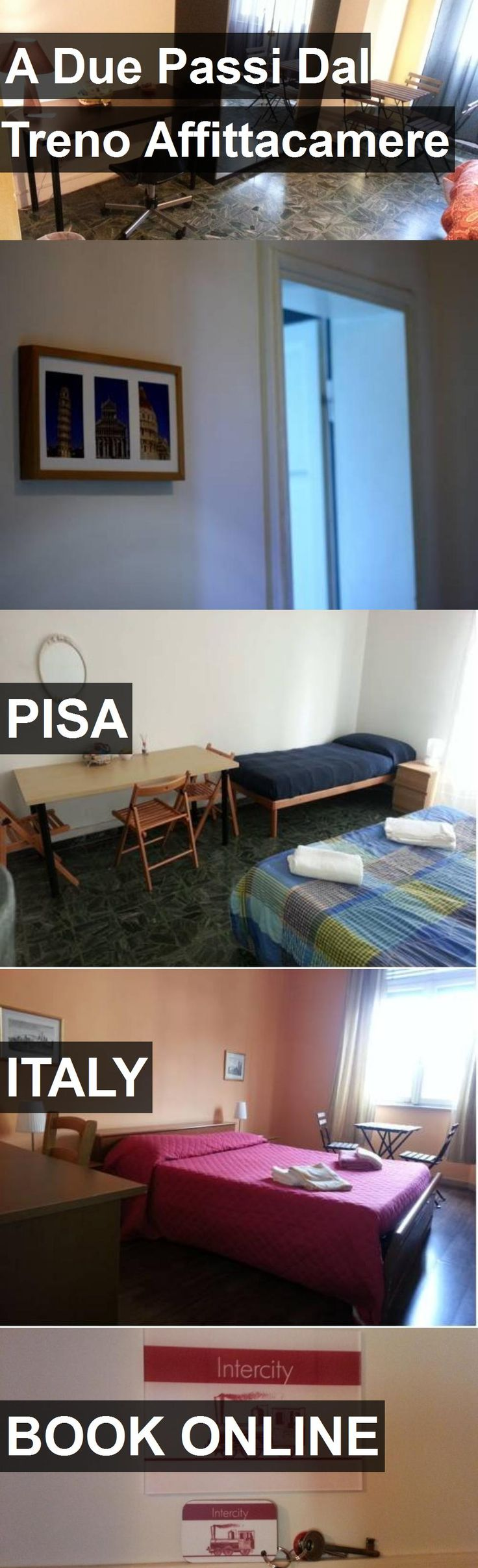 Hotel A Due Passi Dal Treno Affittacamere in Pisa, Italy. For more information, photos, reviews and best prices please follow the link. #Italy #Pisa #travel #vacation #hotel