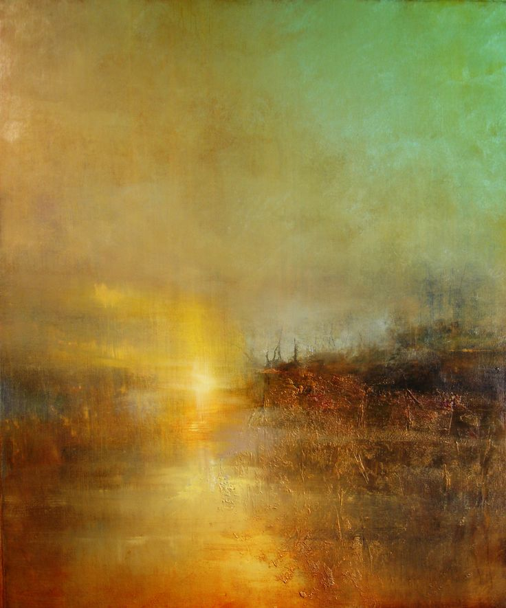 "Oil On Canvas: ""Sunset At Turner's Cove"" Because Turner is the incomparable master of atmosphere"