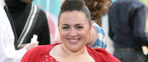 La star di Hairspray Nikki Blonsky in #Smash.
