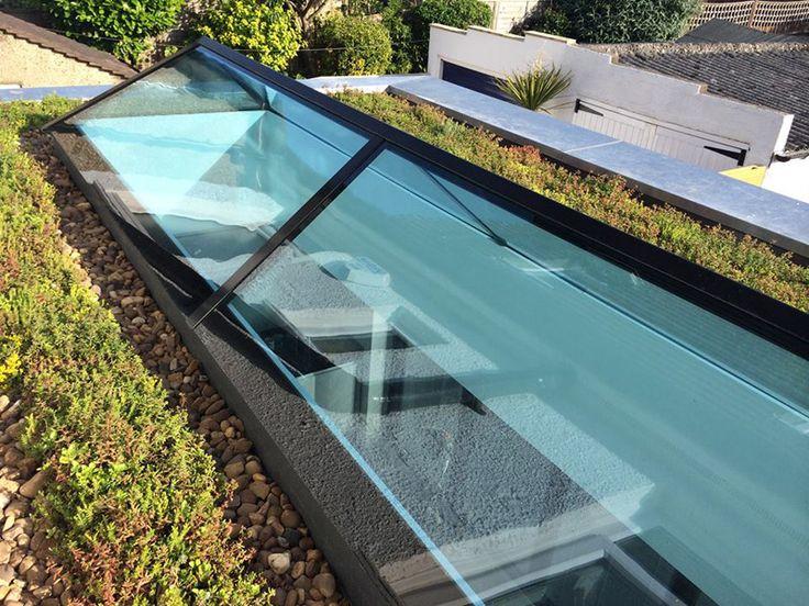 large contemporary skylight