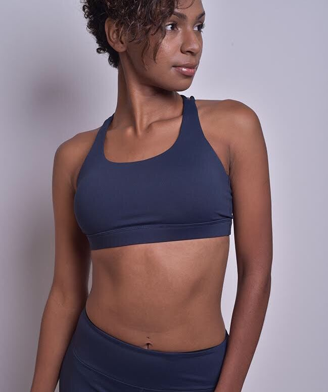 8386716b0c3ed Stealth Sports Bra in Navy Color. Excellent fit