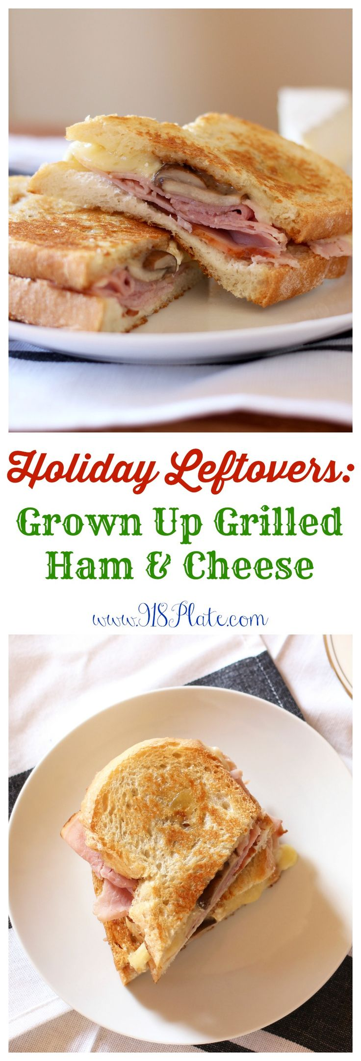 This sandwich is like a grown-up grilled ham & cheese sandwich, and a ...