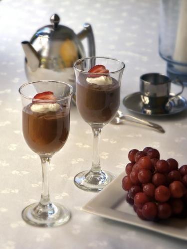 Chocolate + Yoghurt Pots - recipe