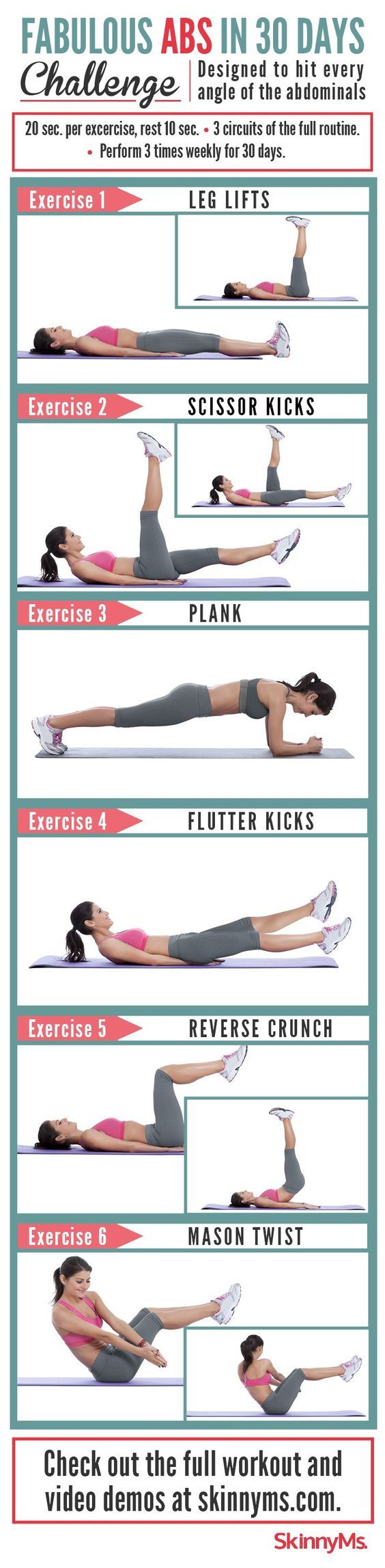 Fabulous Abs in 30 Days Challenge