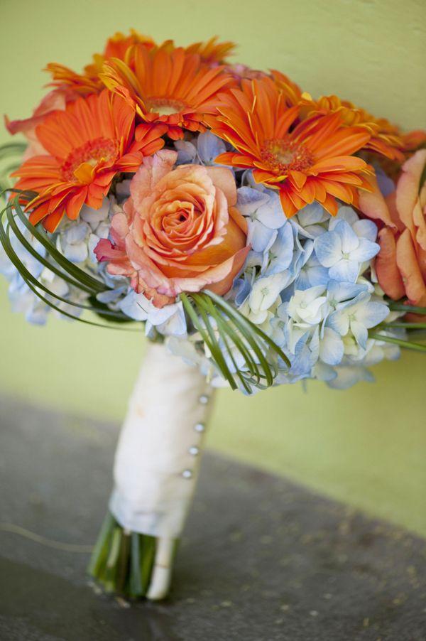 Blue And Orange Desert Wedding Weddings And Wedding