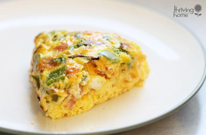 Easy oven omelet recipe