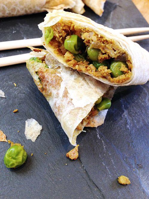 Aujourd'hui je vous emmène faire un voyage gourmand du côté de l'Asie. S'il y a bien un pays où on peut manger végétarien sans souci, c'...