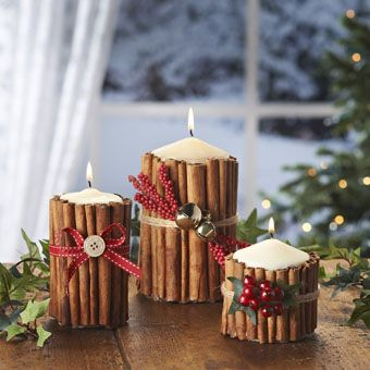 Cinnamon Candles | Craft Ideas & Inspirational Projects | Hobbycraft