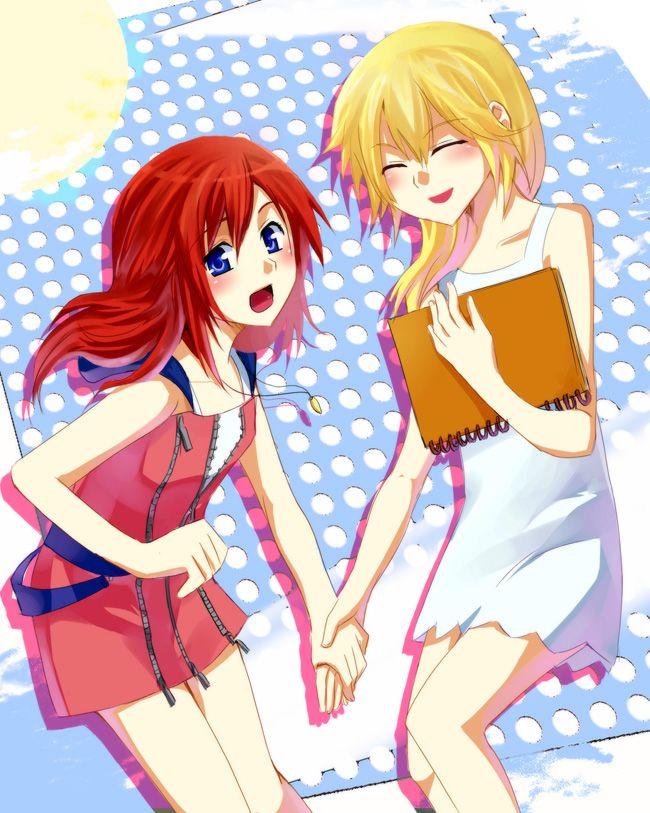 Kingdom Hearts Namine And Kairi Anime 17 Best images ...