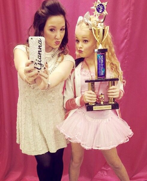 Wonderful choreographer Gianna Martello with student Jojo Siwa!!