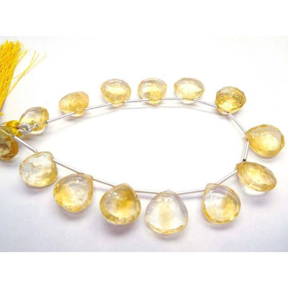 DIY JEWELRY MAKING 19Gm/14Beads Citrine Quartz Loose Gemstone 11X12-12X13 Mm Faceted Heart Beads by Beadsselect https://www.etsy.com/listing/582717865/diy-jewelry-making-19gm14beads-citrine?ref=rss&utm_campaign=crowdfire&utm_content=crowdfire&utm_medium=social&utm_source=pinterest