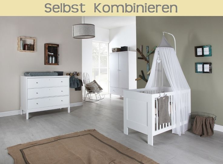 Trend Europe Baby PURE KIDS Kinderzimmer Mix and Match hellblau teilig