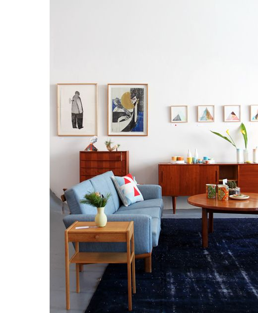 There is something so cool about Nordic style furniture. I just want to live in this space.