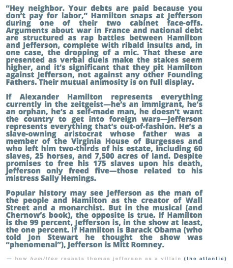 Why Hamilton the musical is brilliant, in particular, the Cabinet rap battles between Hamilton and Jefferson #hamiltunes #Hamilton #musical