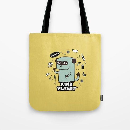 KIND PLANET Tote Bag