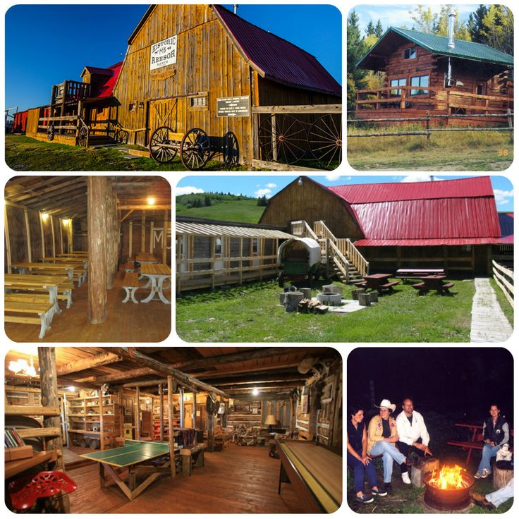 The Historic Reesor Ranch is well equipped to handle any size family reunion in the Cypress Hills