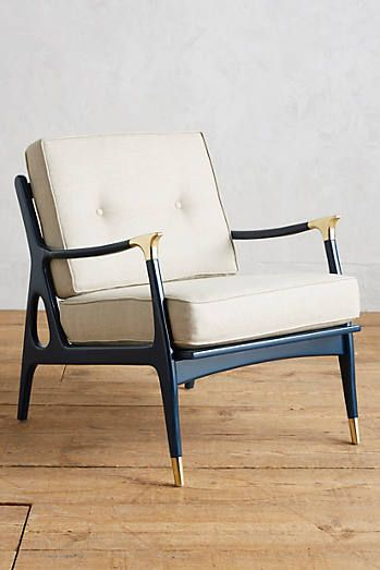 Lacquered Haverhill Occasional Chair
