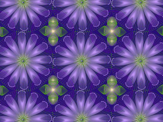 """Flores lumínicas"" by xelda45 Xelda45"