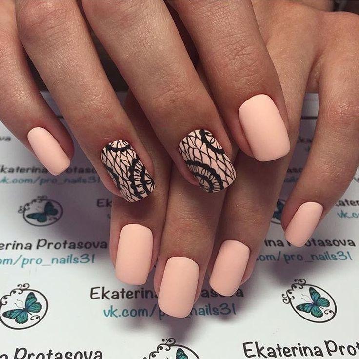 Beautiful nails, Beautiful nails 2017, Delicate nails, Evening nails, Festive nails, Festive spring nails, Ideas of matte nails, Matte nails