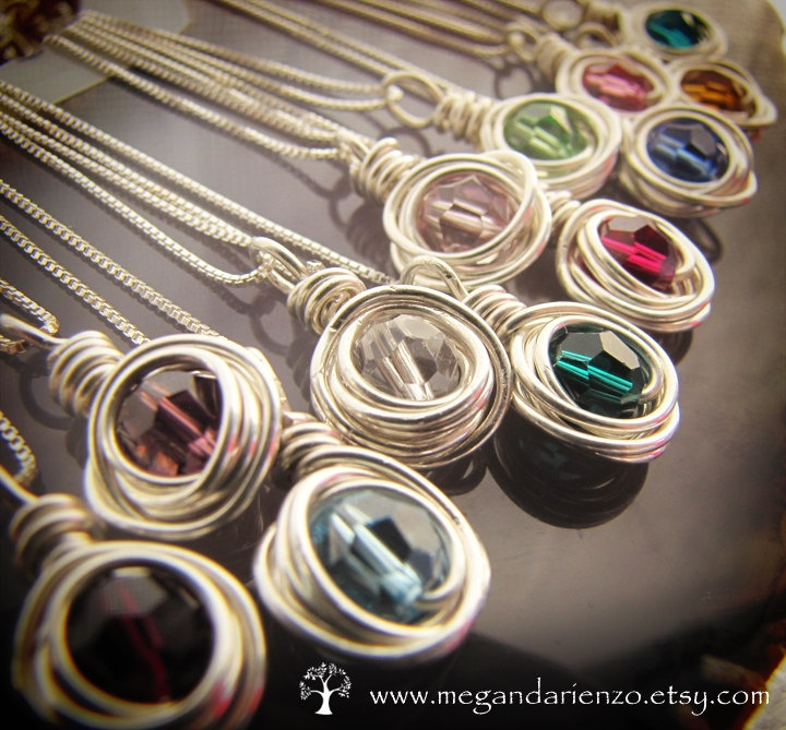Simplicity Necklaces from megandarienzo at etsy