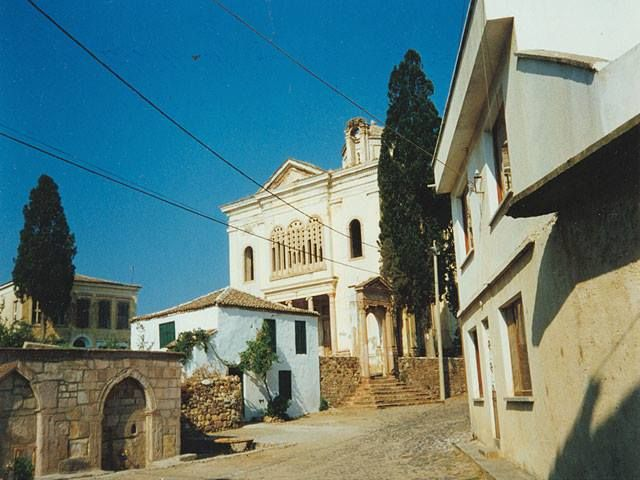The church of the Taxiarchon, Metropolis of Moschonisi