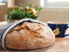 Eltefritt halvgrovt brød med gresskarkjerner - TRINEs MATBLOGG