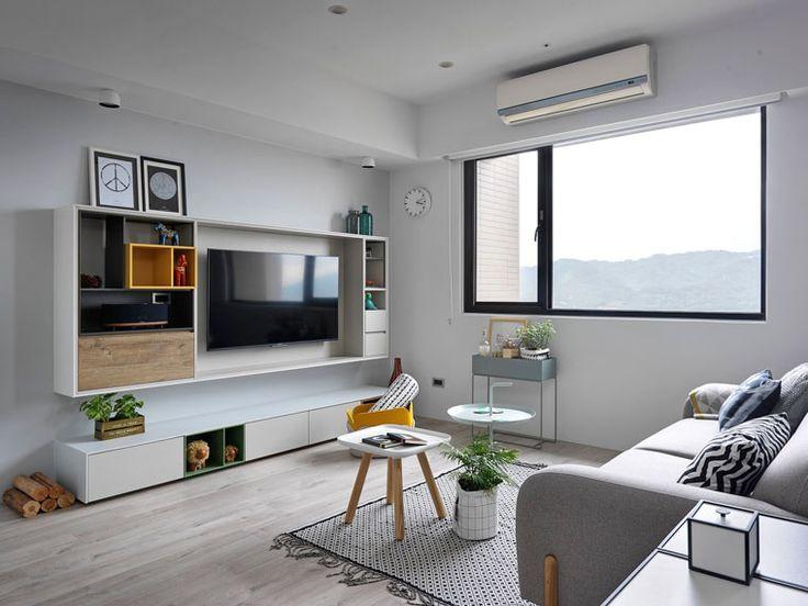 溫馨北歐風!新北 30 坪簡約粉嫩白系住宅 | 設計王