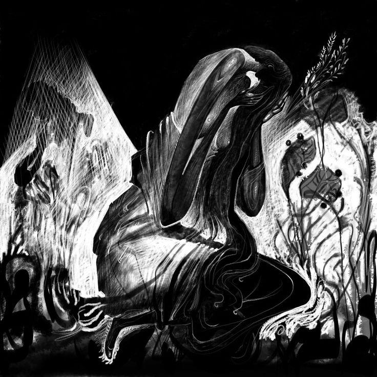 Antigone. Digital painting.2016