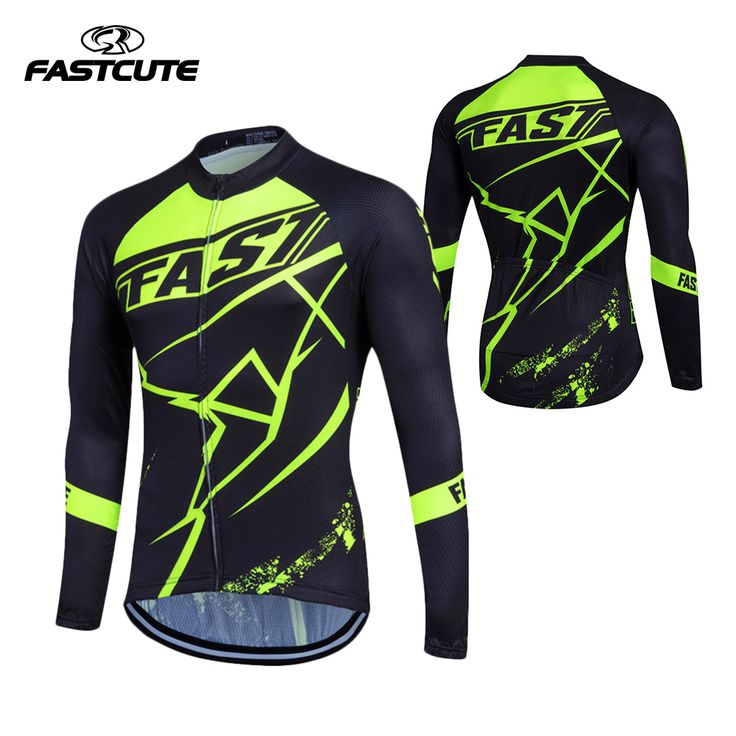 Fastcute Derk Ropa Ciclismo Bike Cycle shirt Maillot Bicycle Wear MTB Cycling Clothing Racing Long Sleeve Cycling Jersey  #Affiliate