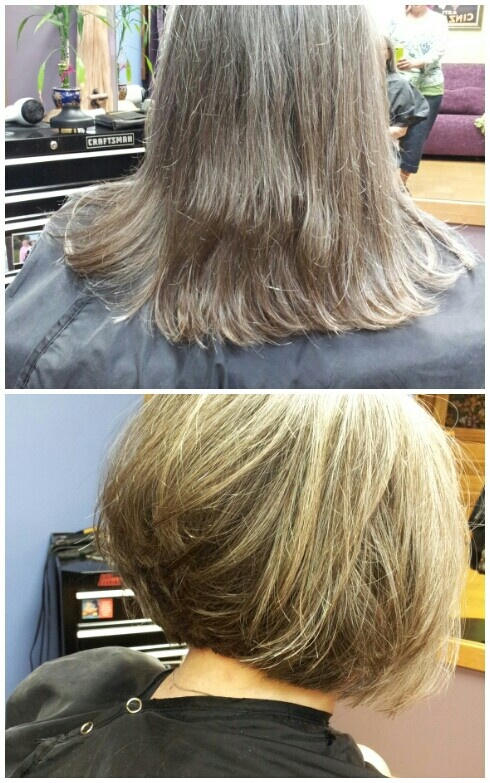 Before and After: Goldwell Elumen, Hair