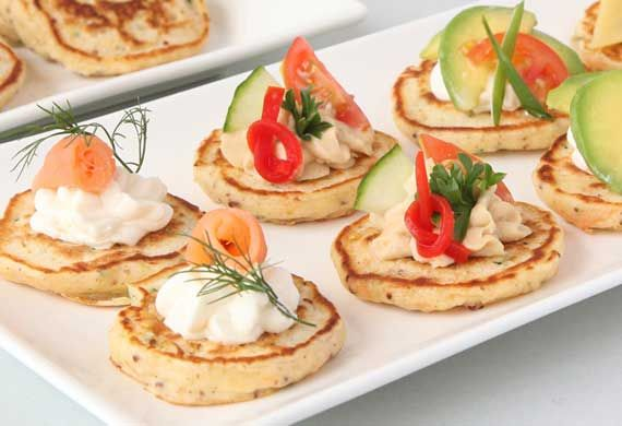Up your veg intake with this light and fluffy savoury pikelet recipe, courtesy of Annette Sym