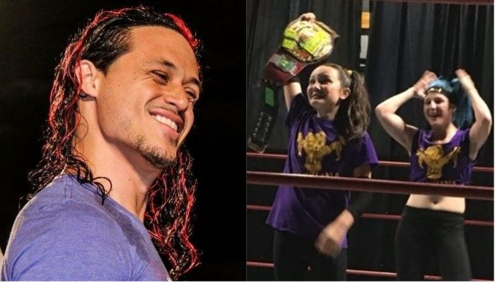 Bayley S Fiance Aaron Solow Comments On Izzy S Pro Wrestling Debut