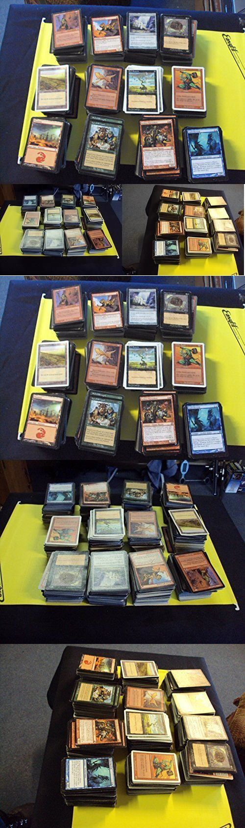 MTG Mixed Card Lots 19113: Magic: The Gathering Magic Card Collection 2000+ Cards!!! Includes Foils, Rares -> BUY IT NOW ONLY: $31.72 on eBay!