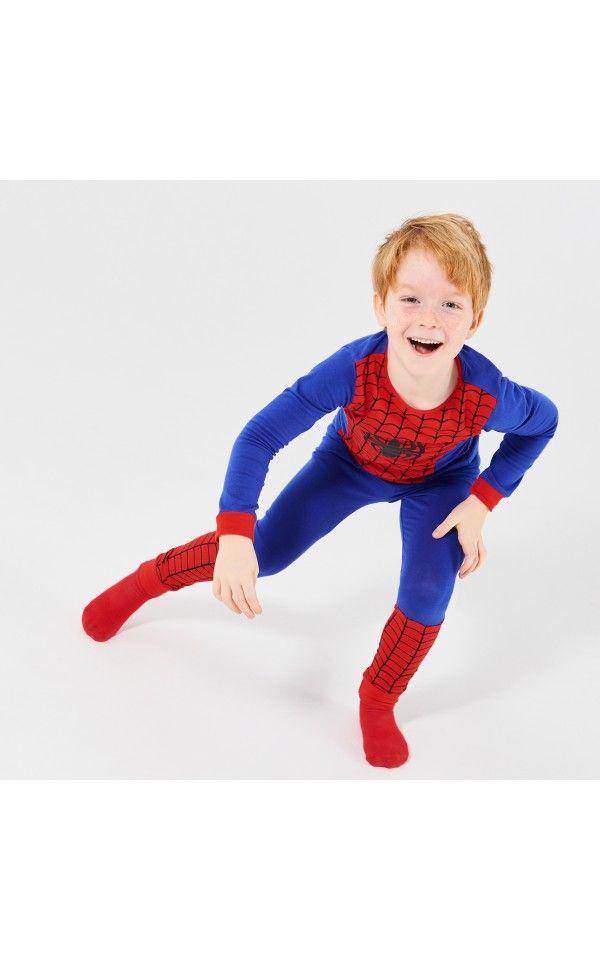 Pyžamo SPIDERMAN, PARTY TIME 🎈 🎈 🎈, modrá, RESERVED