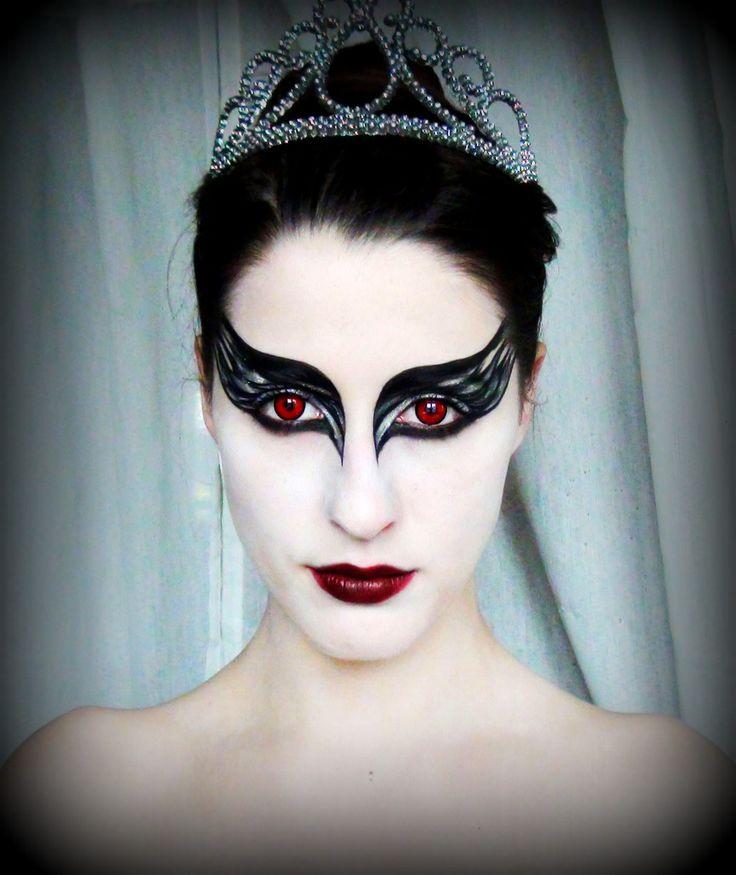 video maquillage black swan inspira o pinterest. Black Bedroom Furniture Sets. Home Design Ideas