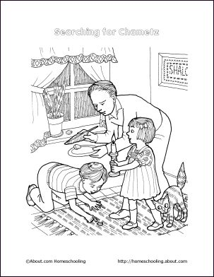 vayeitzei coloring pages - photo#11
