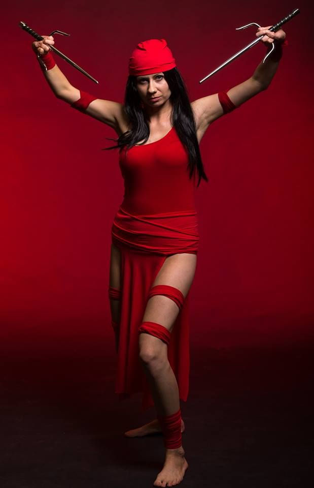 Marvel Elektra Natchois cosplay  https://www.facebook.com/cospf
