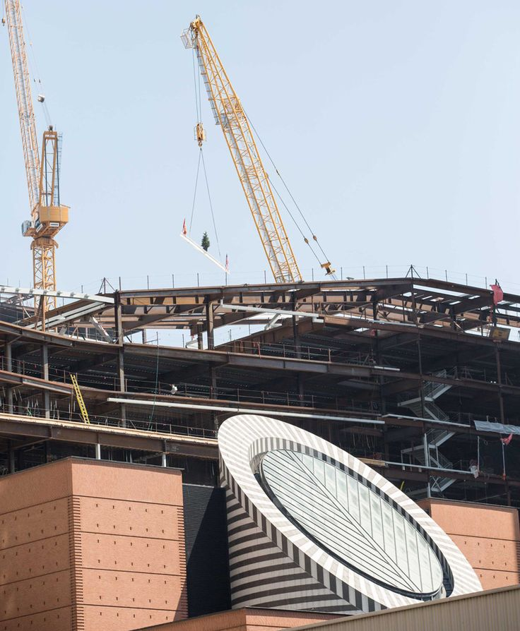 construction on snøhetta-designed SFMOMA expansion tops out