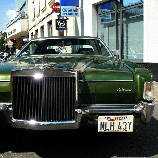 #Lincoln #Continental #car #oldtimer
