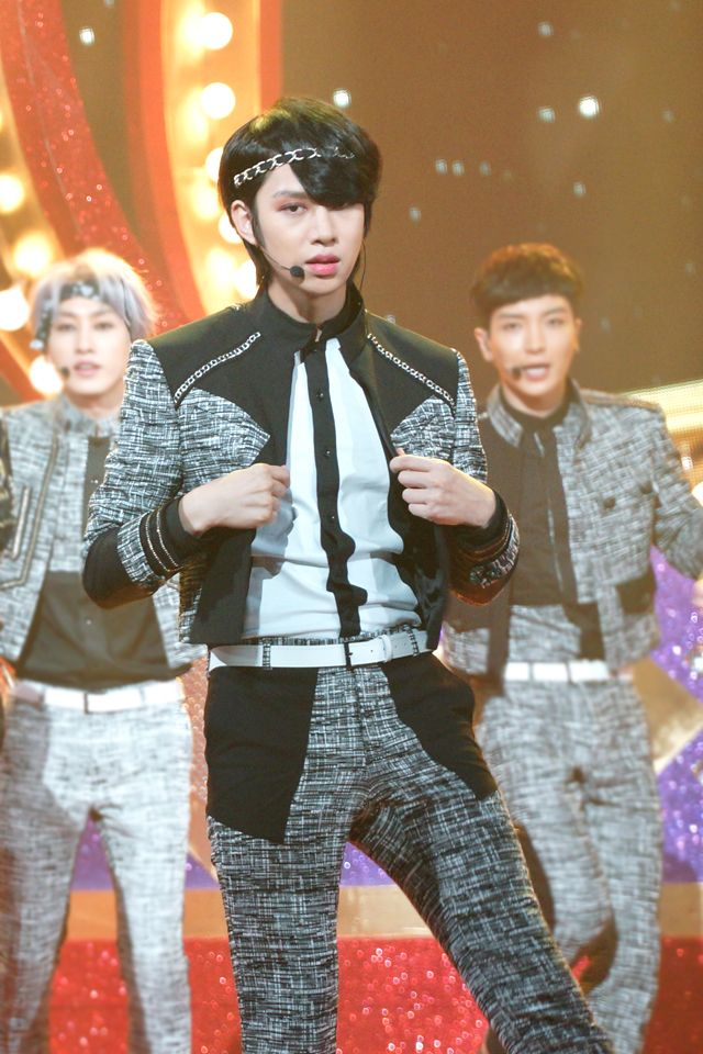 "Heechul | Super Junior at KBS ""Music Bank"""