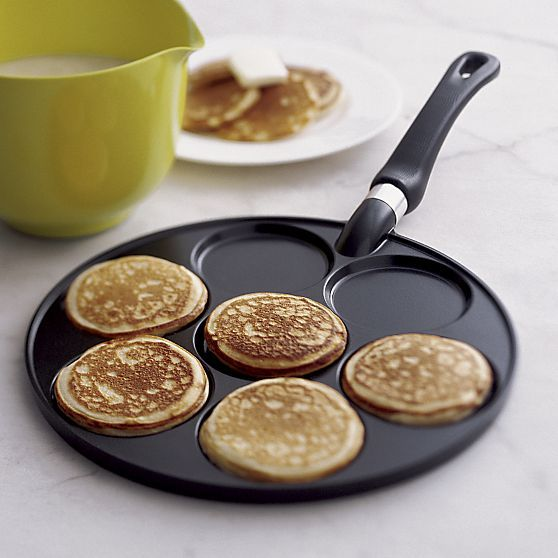 Silver Dollar Pancake Pan in Top Cookware, Bakeware | Crate and Barrel