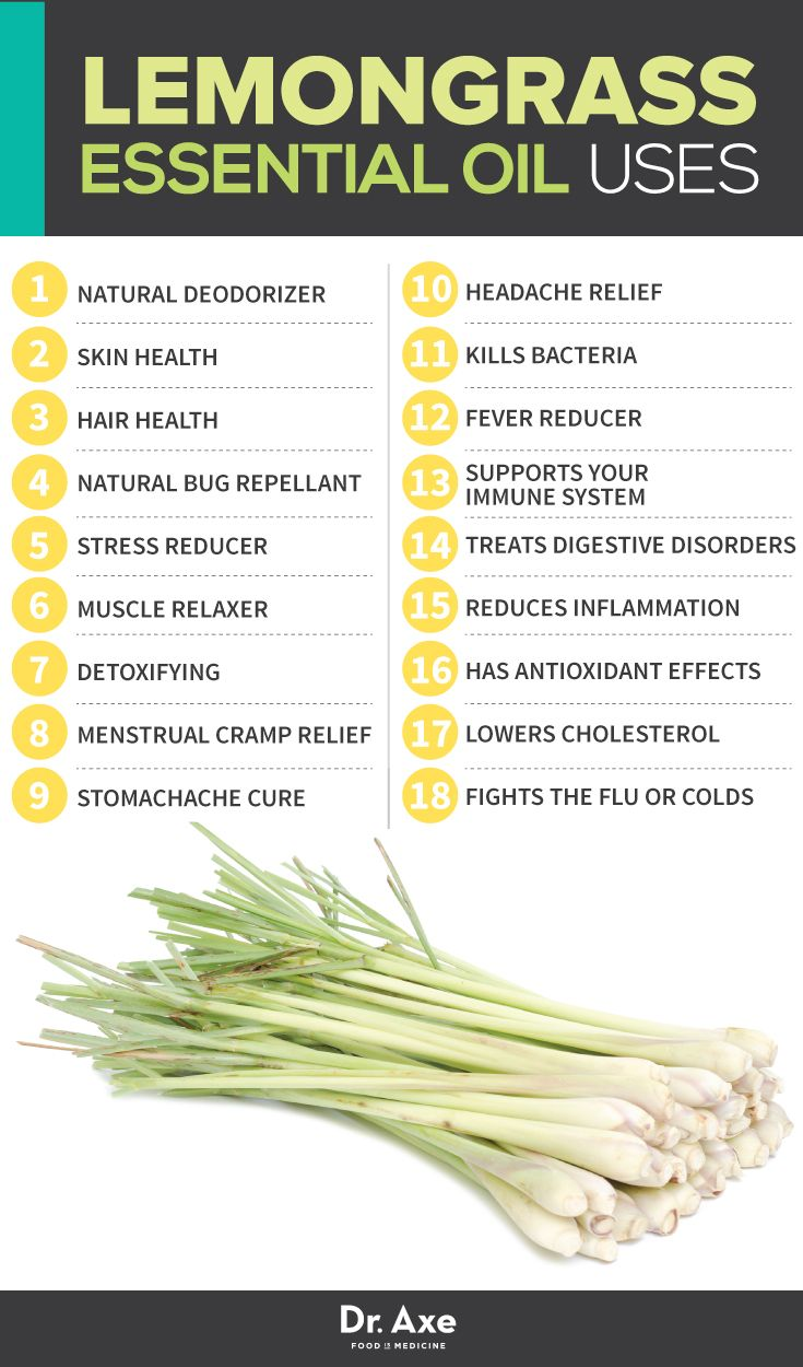 Lemongrass Oil Uses http://www.draxe.com #health #holistic #natural