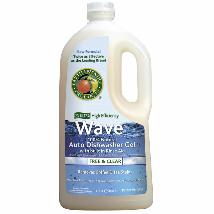 Detergente lavavajillas Earth Friendly. Route2Green.