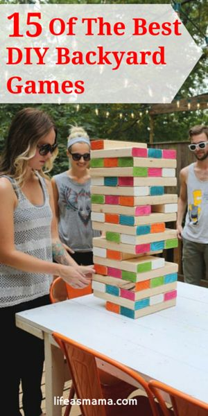 Best 25 outdoor games for adults ideas on pinterest giant games 15 of the best diy backyard games solutioingenieria Gallery